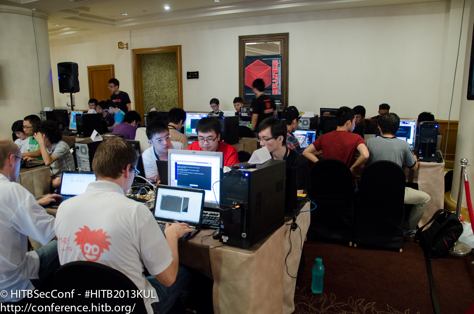 CTF underway - Team Dutch Orange Glasses from NL in the forefront