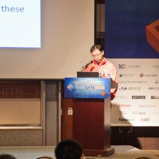Anthony Lai from VXRL in Hong Kong (and friend of HITB) during his presentation on insecurities in Chinese .gov sites ...
